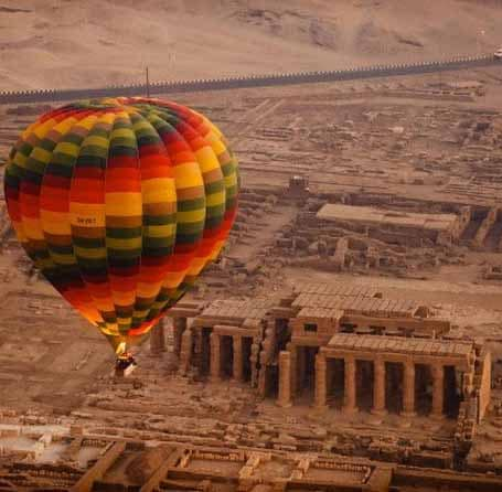Luxor in Egypt ranks in top 3 of most hot air balloon trips worldwide