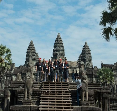 Angkor Wat Temple Discovery Amazing Race
