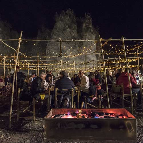 Discovery DMC hosts special Gala Dinner event at quarry near Myanmar's Inle Lake