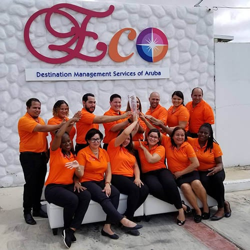 ECO DMS ARUBA CURACAO receives prestigious Crystal Award from SITE