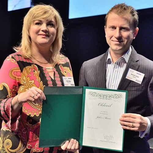 Motivation Global Travel MD wins Best Incoming Travel Agent Award
