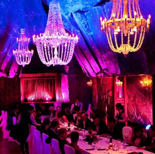 Imagine an underground gala dinner in Wieliczka Salt Mine