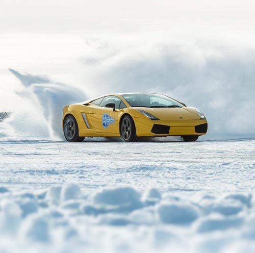 Experience ice driving and ice breaking in Finnish Lapland