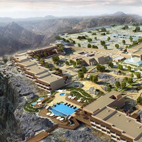 Highest 5* luxury resort opens in Middle East