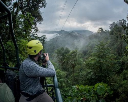 Mashpi Lodge in Ecuador opens its Dragonfly canopy gondola