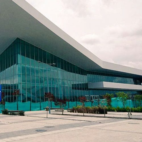 Quito's new state of the art convention center opening 2019