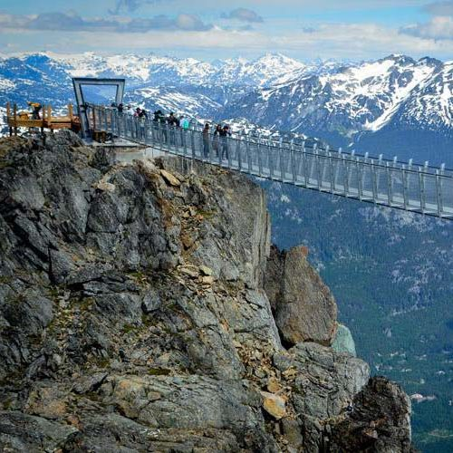 Experience the new Whistler Peak Cloudraker Skybridge
