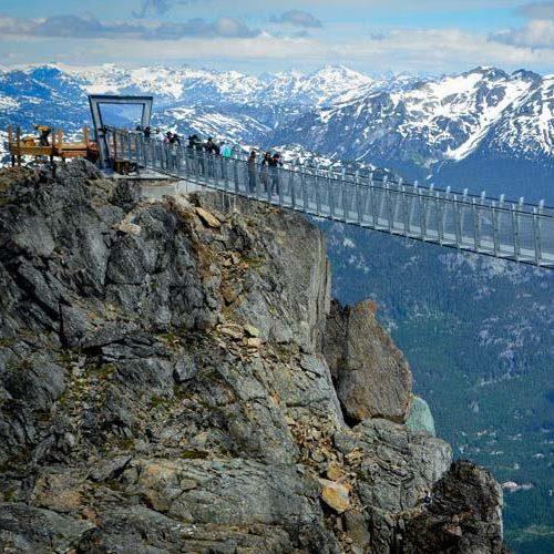 Experience the new Whistler Peak Cloudraker Skybridge